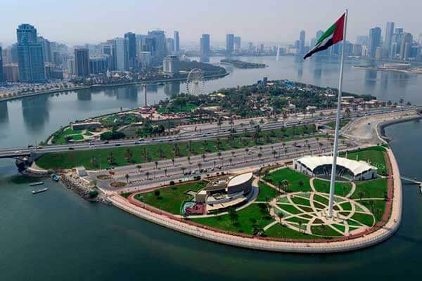 Flag Island Sharjah